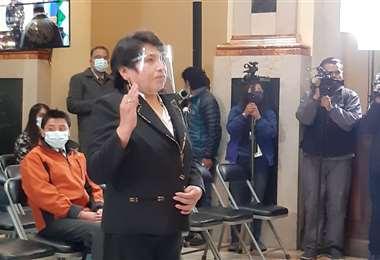 Vocal Chuquimia: Me hubiera gustado ser la presidenta del TSE   Urgentebo
