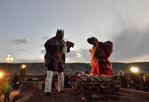 Resultado de imagen para policias militares en tiwanaku